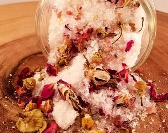 Chamomile Rose Bath Salts