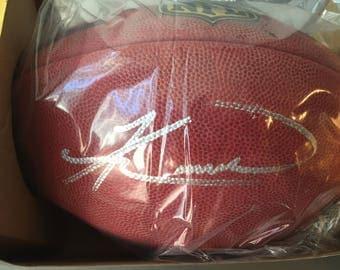 Knowshon Moreno Autographed Football