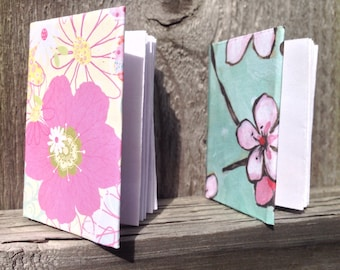 Mini Notebooks - Miniature - Cute Gift - Valentine's Day - Party Favor - Paper - Tiny - Tiny Book - Tiny Notebook - Write - One Inch - Cute