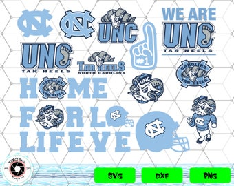 North Carolina Tar Heels svg,png,dxf/North Carolina Tar Heels clipart for Print/Design/Cricut/Silhouette...etc