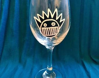 Boognish Wine Glass