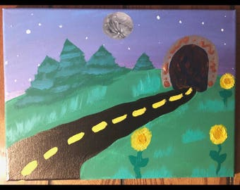 Road to the universe painting