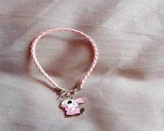 Rabbit Leather Bracelet
