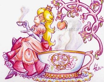 Princess Peach Oolong Tea