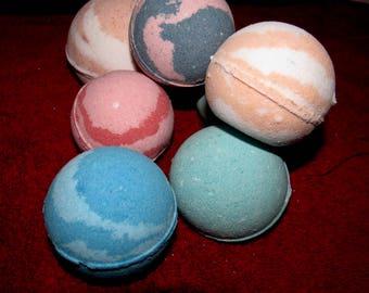 Set of 4 Jumbo Bath Bombs