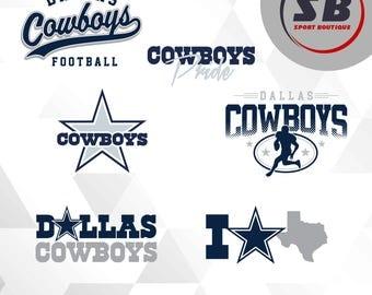Dallas Cowboys2, American Football, sports, dxf, svg, eps, jpg, png files, football team BS-025