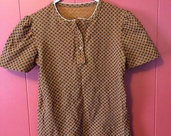 Vintage 1960's hippie shirt