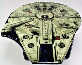 Star Wars Furniture Millennium Falcon Table Coffee Table