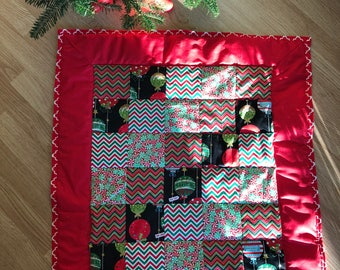 Super soft and warm Christmas baby blanket
