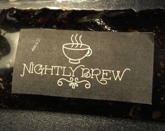 Nightly Brew coffee facial scrub