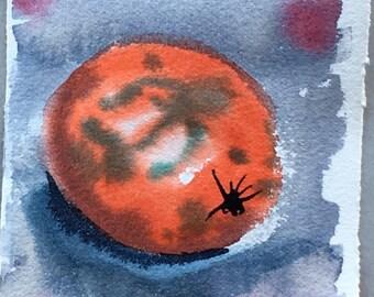 Orange 8  - Original watercolour