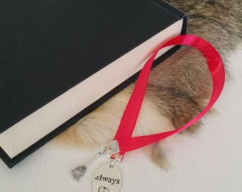 Bookmark Ribbon ' always ' Harry Potter style