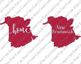 New Brunswick SVG/DXF/PNG