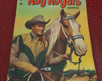 1951 ROY ROGERS #47, 1951 DELL COMICs book