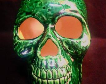 Bottle Green Skull