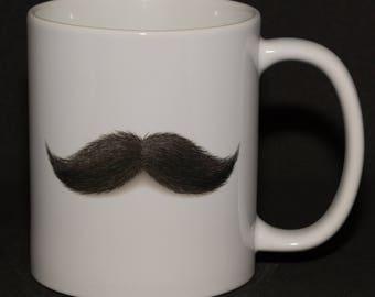 Manly Mustache Mug