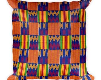 Kente Square Pillow II