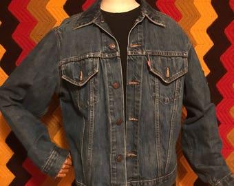 Mens Vintage Levis Jean Jacket Size medium