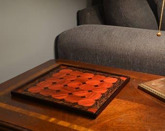 Custom Tak Game Board, Steel Weighted