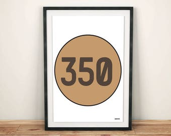 Yeezy 350 box, Yeezy Boost, adidas, sneaker art, sneaker poster, sneaker print, sneakerhead, sneakerhead poster, A4