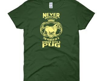 pug t-shirt, pugtshirt,women with pug,pug shirt, dog tshirt, dog tee, dog t-shirt, i love dogs, my dogs, love my dog,dog shirt for women,