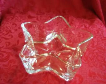 Vintage star shaped Candy dish