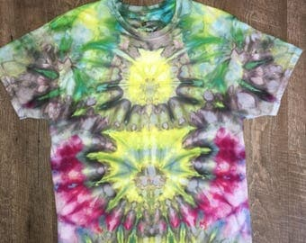 Iced tie dye. Spring bloom boom!