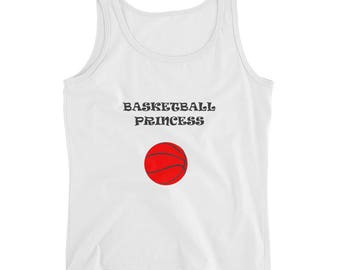 Basketball Princess tank top for Women basketball / Female basketball players