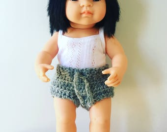 Miniland Doll Drawstring Shorts