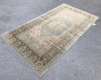 Turkish runner rug,Bohemian runner rug,Oushak Runner rug,Turkish rug,Anatolian Rug,Turkish Rug,Decorative rug,Oushak Rug,Pastel rug
