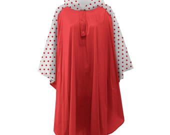 Red Poncho! Monogramming Available! Great for rainy game days!!!
