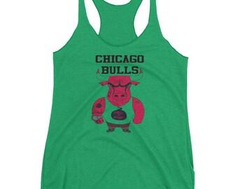 Chicago Bulls Basketball Women's Racerback Tank