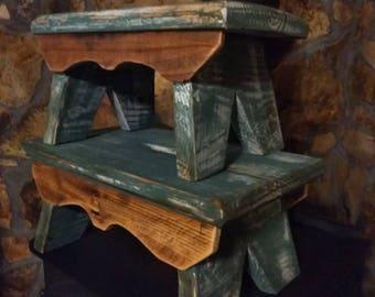 Vintage stools ,antique stools