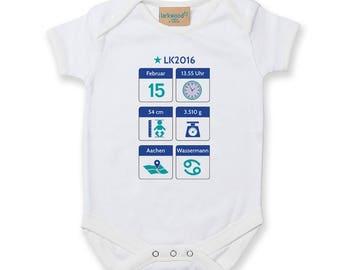 Babysuit (personalized)-White-boy