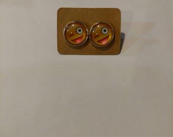Emoji earrings