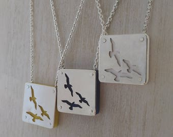 Nautical Series- Gulls Pendant