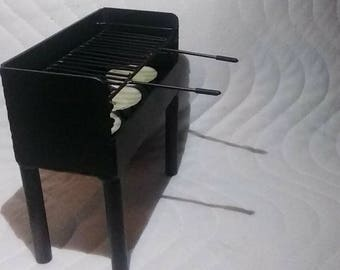 BBQ Candleholder - Metal Art, Metal Sculpture, Home Decoration, Birthday Gift