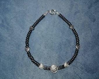Celtic Hemetite Bracelet