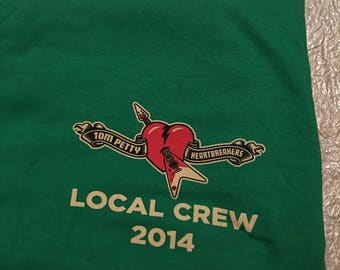 2014, Tom Petty & The Heartbreakers, local crew shirt
