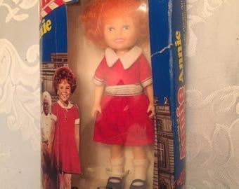 Annie Doll in original Box from 1982 Knickerbocker Toy Co Inc.