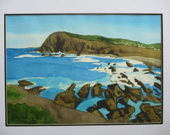 Crescent Head Watercolour