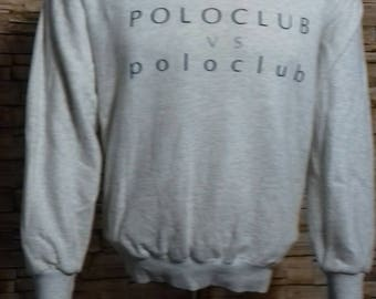 Vintage polo club sweatshirt medium size