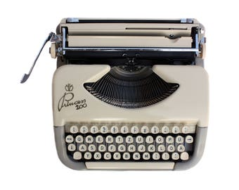 Princess 100 Portable Typewriter