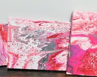 Acrylic Pour Set - 8x10 (2) & 5x7 (1)