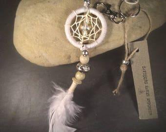 Angel Dream Catcher Keyring Charm