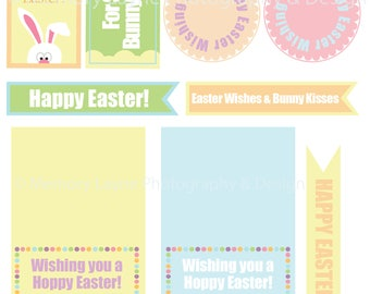 Easter Bunny Tag and Card Pack