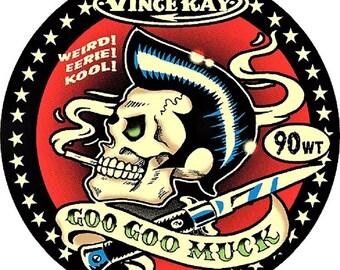 ART STICKER Goo Goo Muck Vince Ray Decal #VR39