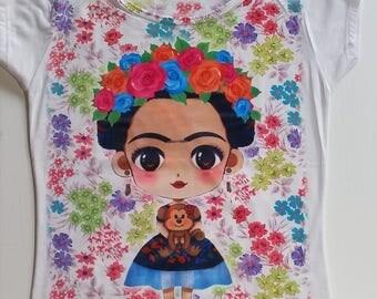 Frida tee for girls