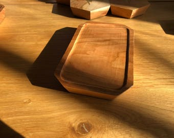 QI Wood Wireless Phone Charger Bedside Valet