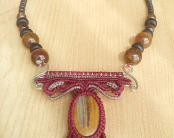 Tribal strength and protection Collar.